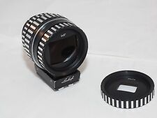 "4x5"" Linhof Multifocal ViewFinder Zebra version-Black #001378 Linhof Technika."