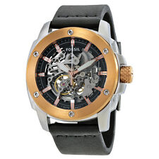Fossil Modern Machine Automatic Skeleton Dial Mens Watch ME3082