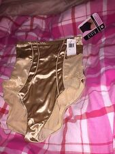 FIT Figure Improving Technology Pants Nude Large 12/14 New Tags