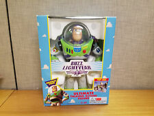 Thinkway Toys Toy Story Ultimate Talking Buzz Lightyear figure, New!