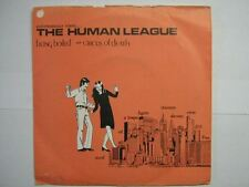 THE HUMAN LEAGUE 45 TOURS UK BEING BOILED