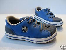 ANSEHEN   org. CROCS Halbschuhe Gr 29 - 31 blau Schuhe Sneakers Clogs Turnschuhe