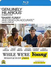 While We're Young (Blu-ray Disc, 2015, Canadian)