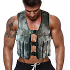 Camo Weighted Vest Weight Jacket Exercise Training vests Weighted Workout Vests