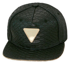 Limited Edition Hater Snapback X Hardware LDN Collaboration Strapback Hat BLACK