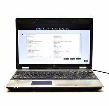 "HP ProBook 6550B 15.4"" Core i3 Laptop l125"