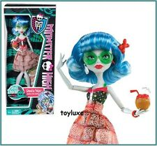 Monster High SKULL SHORES Ghoulia Yelps NEW Swim Suit, Sunglasses, Cover Up Doll