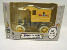 "Ertl 1905 Ford Delivery Car Bank ""Case"" 1/25 die cast metal MIB boxed"