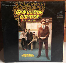 GARY BURTON QUARTET In Concert LP 1968 RCA LSP 3985 Coryell Swallow Moses
