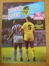 28/03/1987 Aston Villa v Coventry City  (Light Crease)