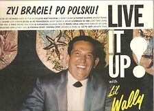 Live It Up! With LI'L WALLY~vintage SEALED LP Polka raucous comedy & adult songs