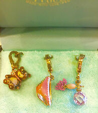 RARE Authentic 2006 Juicy Couture CHARMS SET-RETIRED Charms YJRU0650