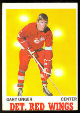 1970 71 OPC O PEE CHEE #26 GARY UNGER EX cond DETROIT RED WINGS HOCKEY CARD