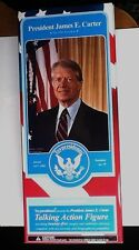 "toypresidents president jimmy carter  presidential toy 12"" talking figure doll"