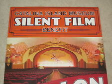 CATALINA ISLAND POSTERS SET OF 2 CASINO THEATRE SILENT FILM POSTER 39 x 26