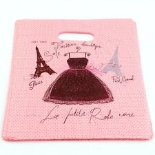 100pcs Eiffel Tower  Plastic Bags Jewelry Gift Bag 20x25cm