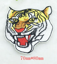 Hot! tiger  Embroidery Iron/sew on patch applique badge Motif
