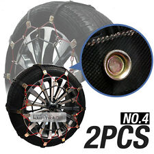 Car Snow Tire Chain Wether Winter Antiskid Belt Ice Nonslip No4 For All Vehicle