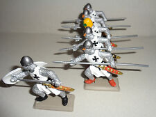 on foot TEUTONIC LANCERS KNIGHTS Argentina DSG Medieval Toy Soldiers Britains