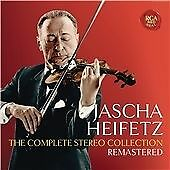 JASCHA HEIFETZ: THE COMPLETE STEREO COLLECTION, REMASTERED NEW CD