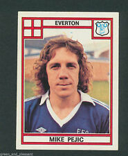 * Everton - Mike Pejic * Panini Football 78 - 128 * sticker