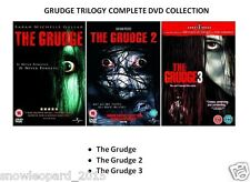 GRUDGE TRILOGY ALL 3 MOVIES DVD COLLECTION TRIPLE PART 1 2 3 Brand New Sealed UK