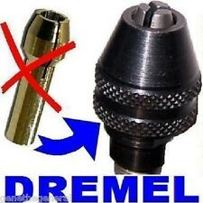 NEW DREMEL # 4486 QUICK CHANGE KEYLESS CHUCK, REPLACES NEED FOR COLLET