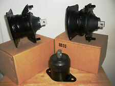 SET OF 3 ENGINE MOUNTS -- FITS: 2003-2005 HONDA ACCORD (3.0L, V6).