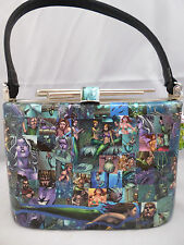 Custom Comic Book Clutch Bag-la Sirenita-Ursula-Bolsa para Mujer