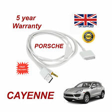 PORSCHE CAYENNE CDR-31 Audio System iPhone 3GS 4 4S iPod USB & Aux Cable white