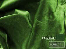 Emerald Green Cotton Velvet - By the Yard - Limited Quantity Request Free Swatch