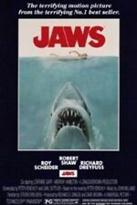 HORROR MOVIE POSTER Jaws Movie Poster Film Score