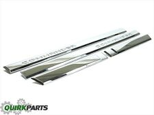 2006 2007 2008 2009  2010 Jeep Commander Chrome Door Moldings SET of 4 NEW MOPAR