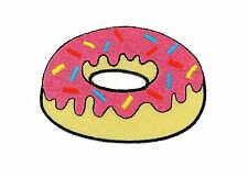 Patch toppe toppa ricamate termoadesiva ciambelle donuts torta cake