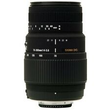 Sigma 70-300mm f/4-5.6 DG Macro Telephoto Zoom Lens For Canon