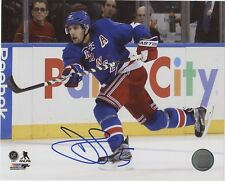 "DAN GIRARDI NEW YORK RANGERS SIGNED 8""x10"" PHOTO w/ COA"