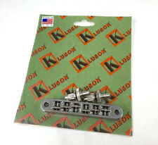 Kluson Nickel Nashville TuneOmatic Bridge for USA Gibson Les Paul/SG® KLP-1200N