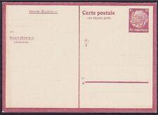 Belgique p 1 * ganzsache nord de la France, GA DT. occupation ww I, inutilisé