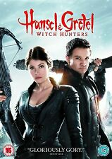 Hansel And Gretel Witch Hunters  Jeremy Renner, Gemma Arterton NEW UK R2 DVD