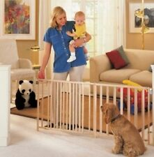 NEW!! Extra Wide Swing Dog Pet Baby Child Gate over 8+ ft. Wide Safety Durable
