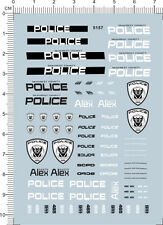 1/24 Water Slide Decals Transformers POLICE 911  (5157)