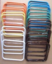 "Lot of 14 Pairs Assorted 7"" Square Thin Plastic Macrame Purse Handles Craft DIY"