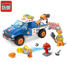City Series:Building toys Road Wrecker Children's gifts 207pcs