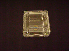 Vintage CONTEL Leaded Crystal Jewel Box New