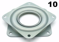 "Ten Square 3"" Inch Lazy Susan Turntable Bearings - 5/16"" Thick & 200 LB Capacity"