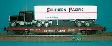 M&B Marklin HO 4863 Flatcar southern pacific with wiking truck southern pacific
