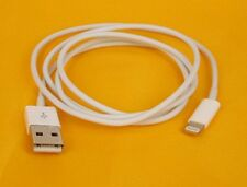 Genuino Apple Usb A Lightning Cargador Y Cable para sincronización 1 año de garantía del Reino Unido Vendedor