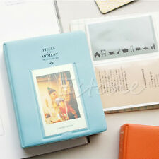 64 Pockets Album Photo Case For Fujifilm Instax Mini8 7s 25 50s 90 Polaroid Blue