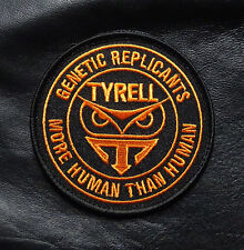 BLADE RUNNER TYRELL GENETIC REPLICANT MORE THAN HUMAN HOOK LOOP PATCH