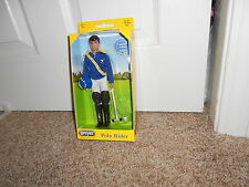 Breyer Traditional series 1:9 scale Polo Rider doll 2015 LE new in box #544 Nico